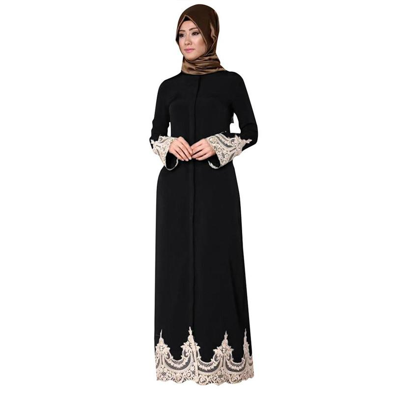 Abaya dentelle chic Muslim Mine