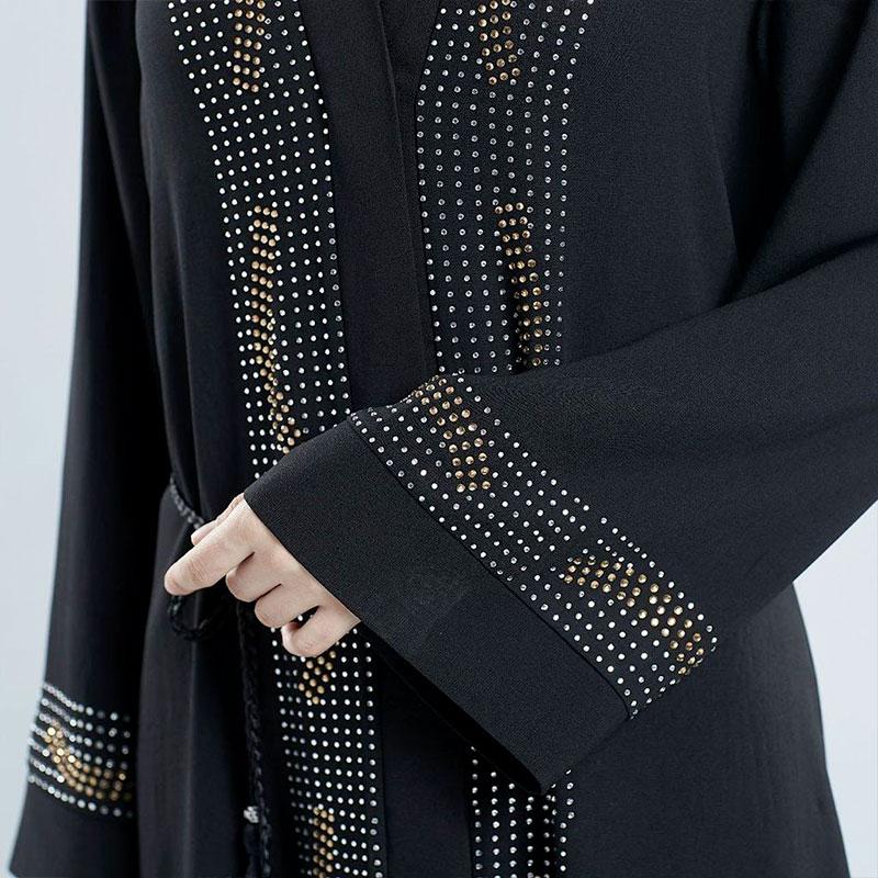 detail abaya dubai cardigan
