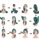 Comment mettre turban hijab Muslim Mine