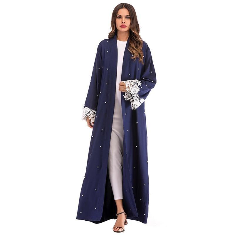 Abaya Kimono ouverte Muslim Mine