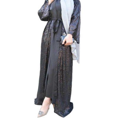 abaya soirée muslim mine