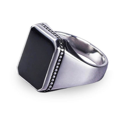 bague islam homme argent muslim mine