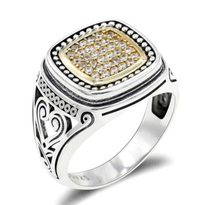 bague islam zircon muslim mine