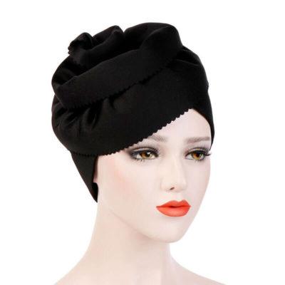 bonnet hijab chapeau noir muslim mine