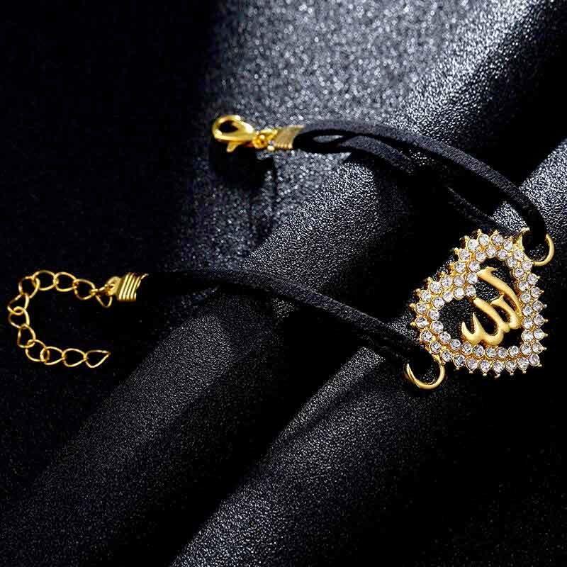 Un bracelet Allah pour femme doré Muslim Mine