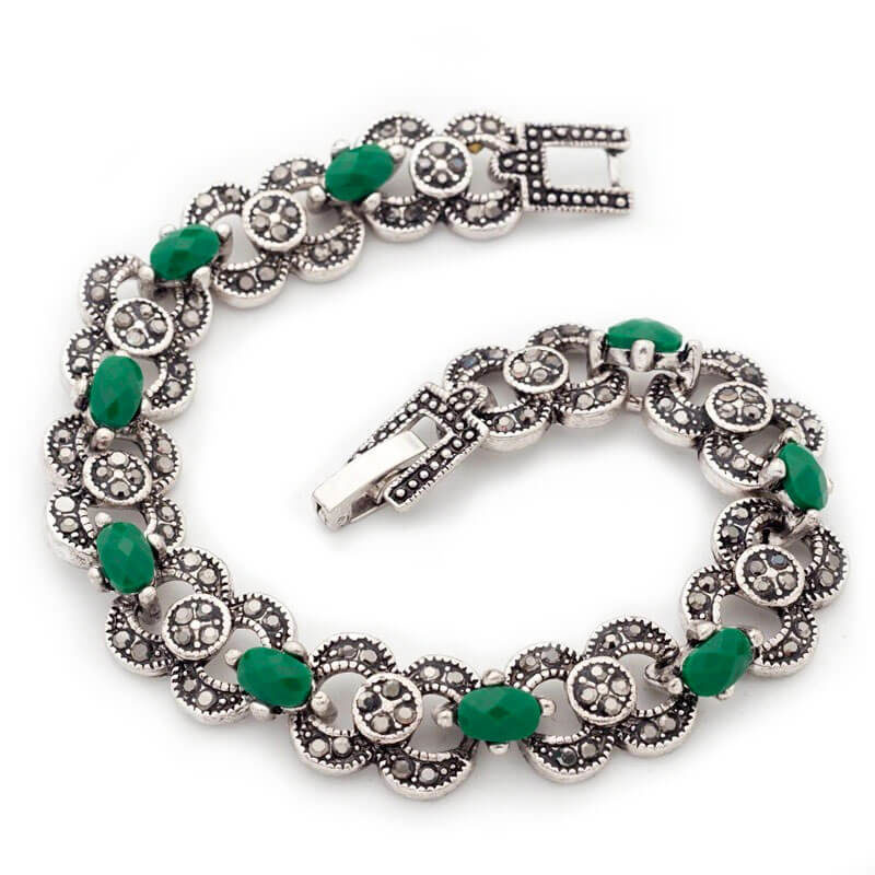 Bracelet Marocain serti Muslim Mine