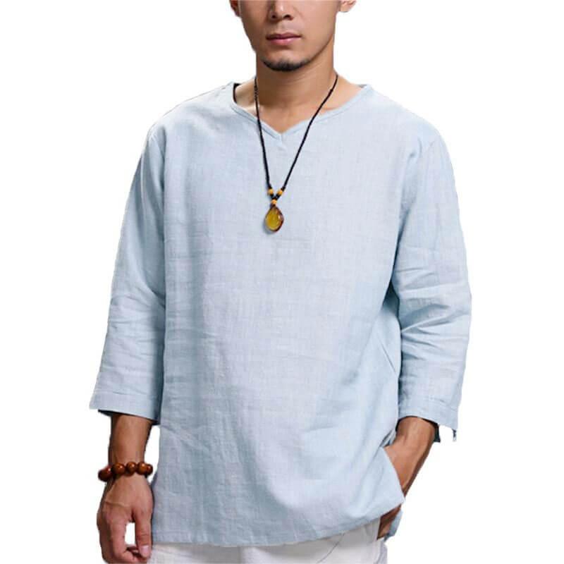 chemise asiatique homme muslim mine