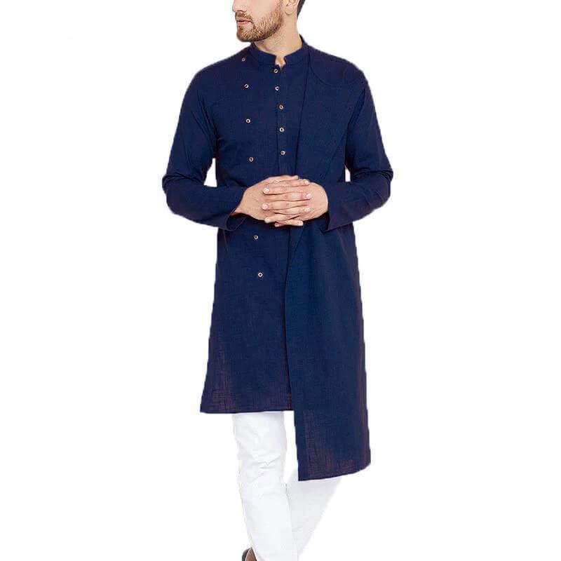 modèle chemise islamique muslim mine