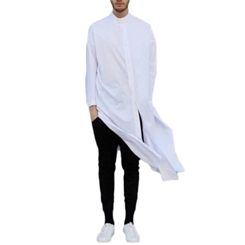 chemise Longue homme islam muslim mine