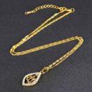 collier Allah pour femme vénitienne muslim mine