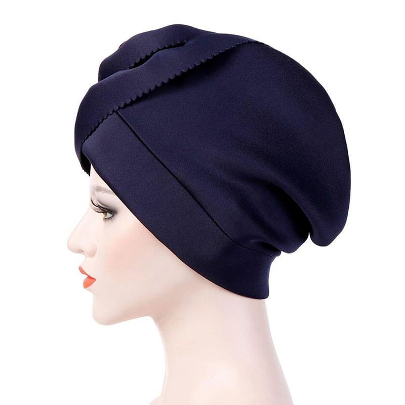 détails bonnet hijab chapeau muslim mine