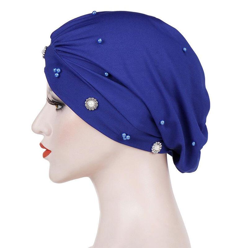 détail bonnet hijab moderne muslim mine