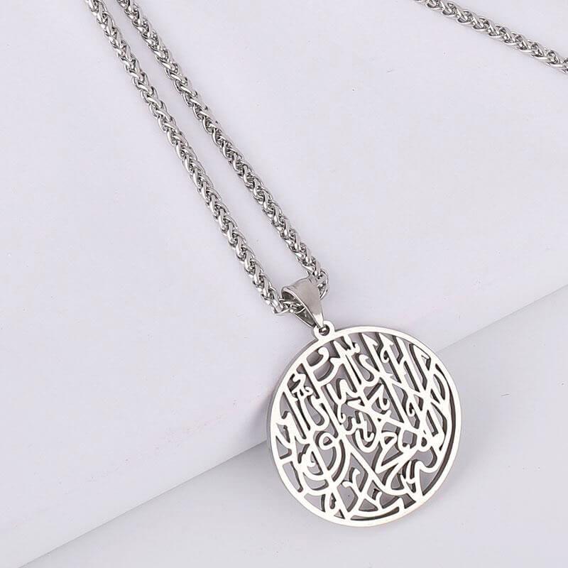 collier musulman chahada muslim mine