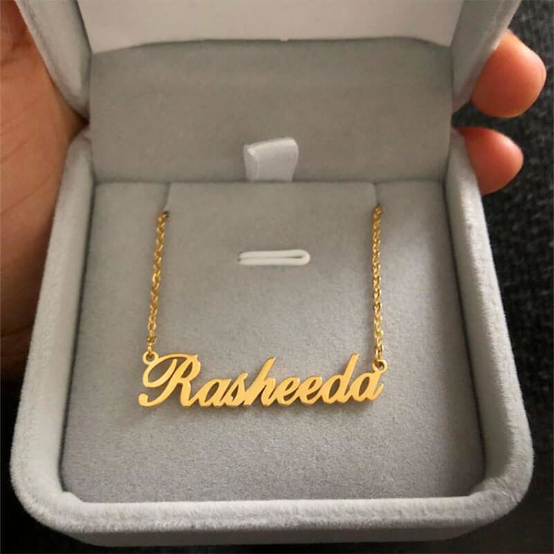 collier arabe prénom phonétique muslim mine