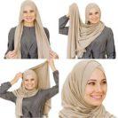 comment mettre hijab croise muslim mine