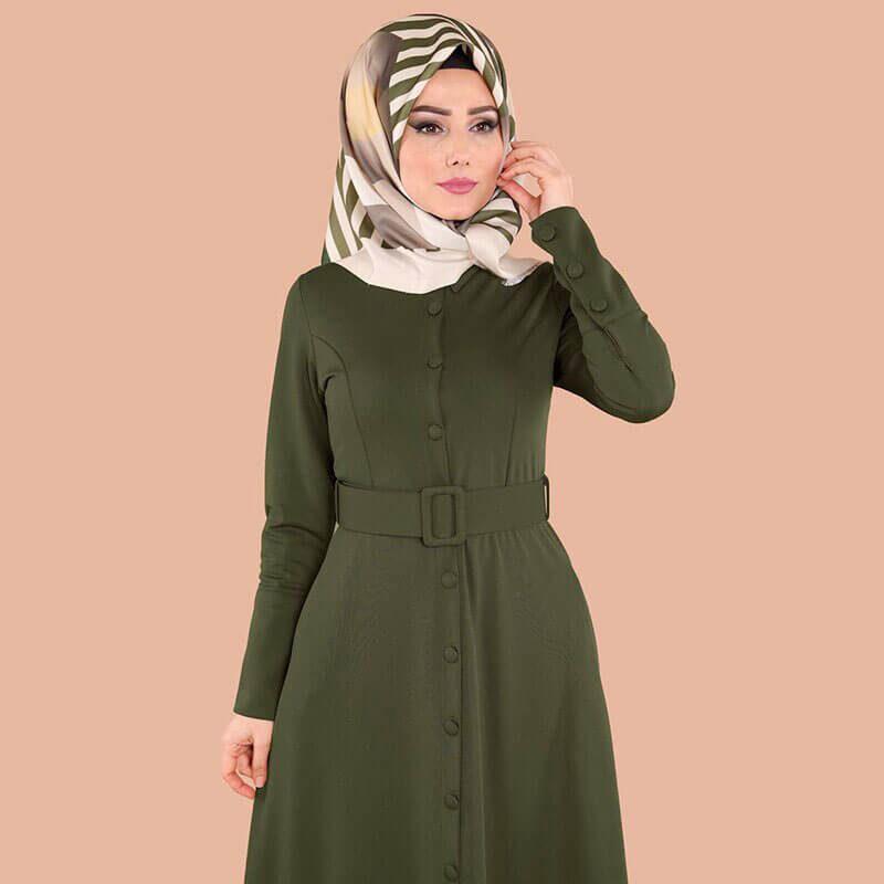 detail robe maternite turque muslim mine
