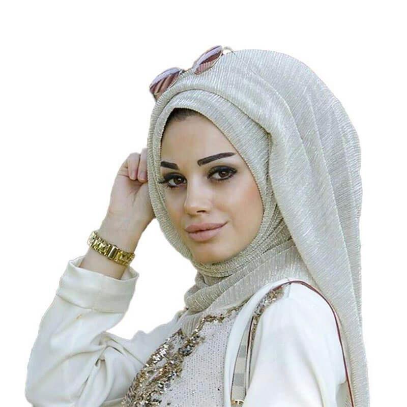 hijab brillant muslim mine