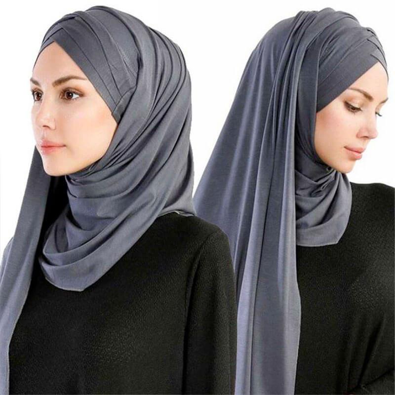 hijab croise triple muslim mine