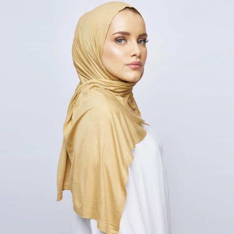 hijab jersey frais leger muslim mine