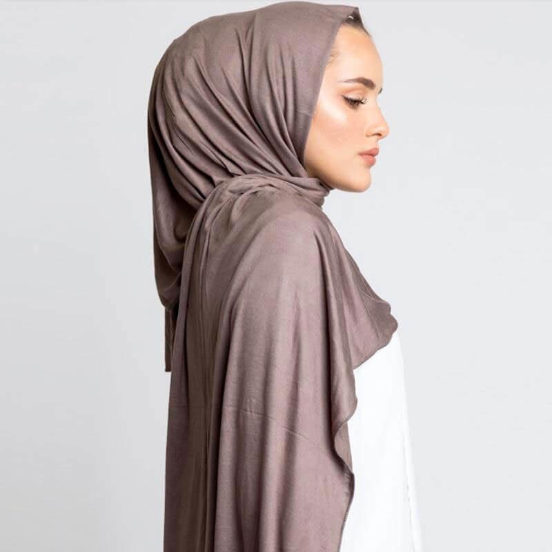 hijab jersey pour femme muslim mine