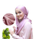 hijab soie muslim mine