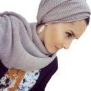 hijab coton plisse muslim mine