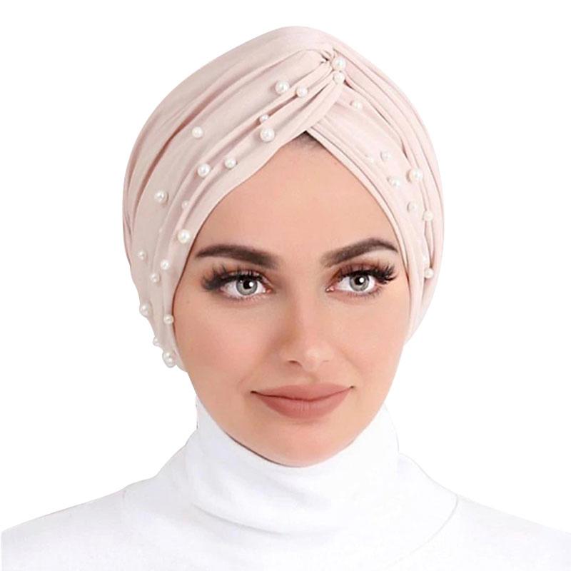 hijab turban perle muslim mine
