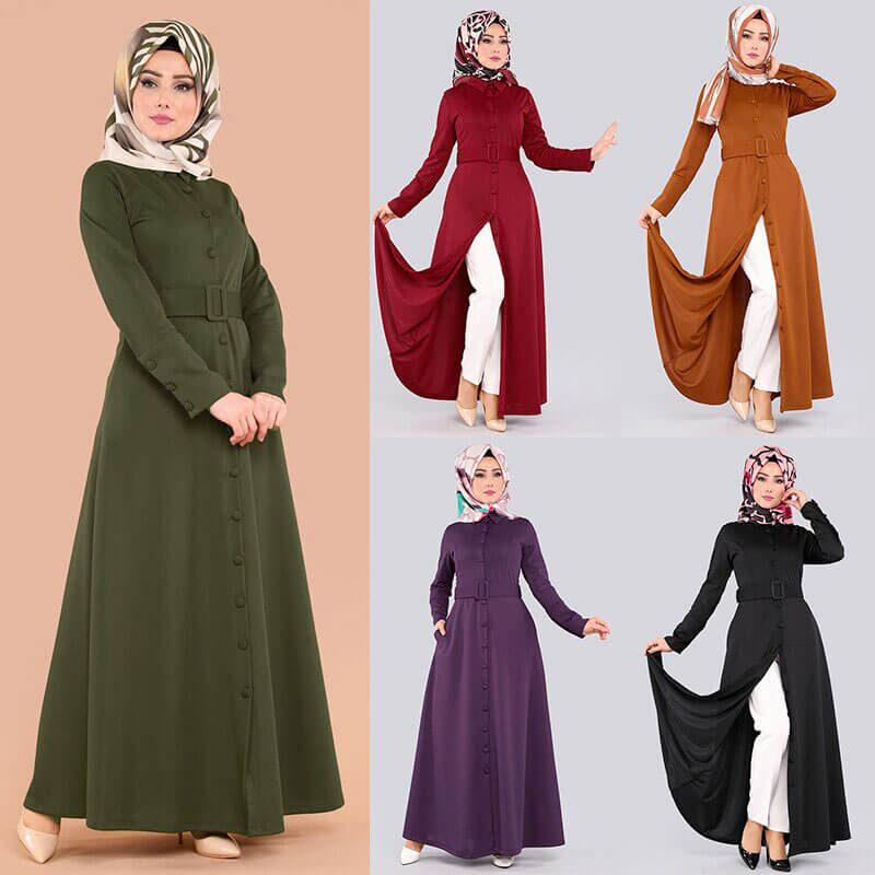 modele robe turque muslim mine