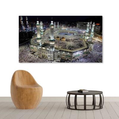 poster de la Mecque muslim mine