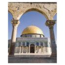 poster Jérusalem muslim mine