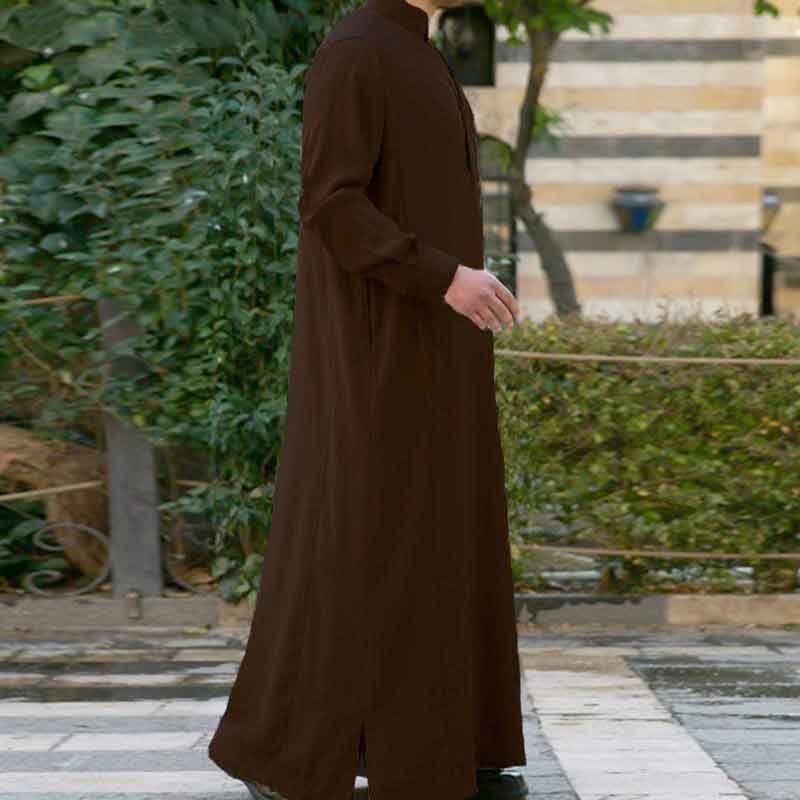 Qamis classic homme muslim mine