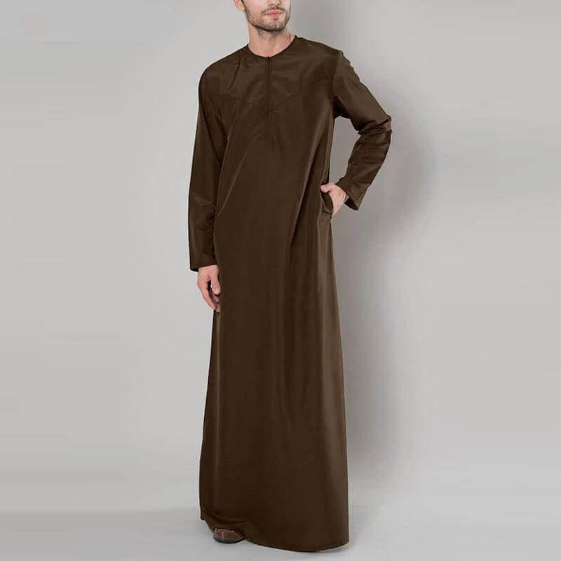 qamis élégant leger muslim mine
