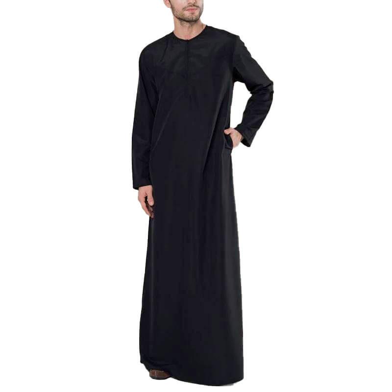 qamis élégant muslim mine