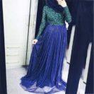 robe de soiree muslim mine