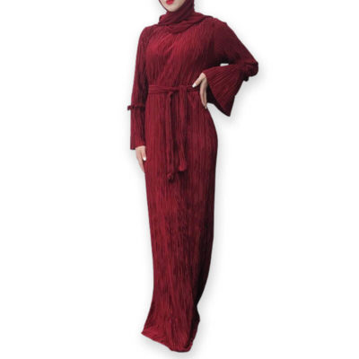 robe plisse muslim mine