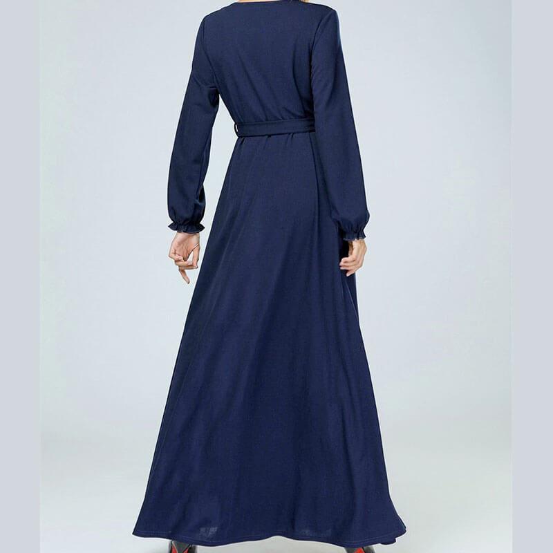 arrière robe allaitement habillée muslim mine