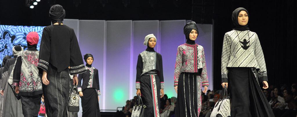 Défilé de mode Hijab Muslim Mine