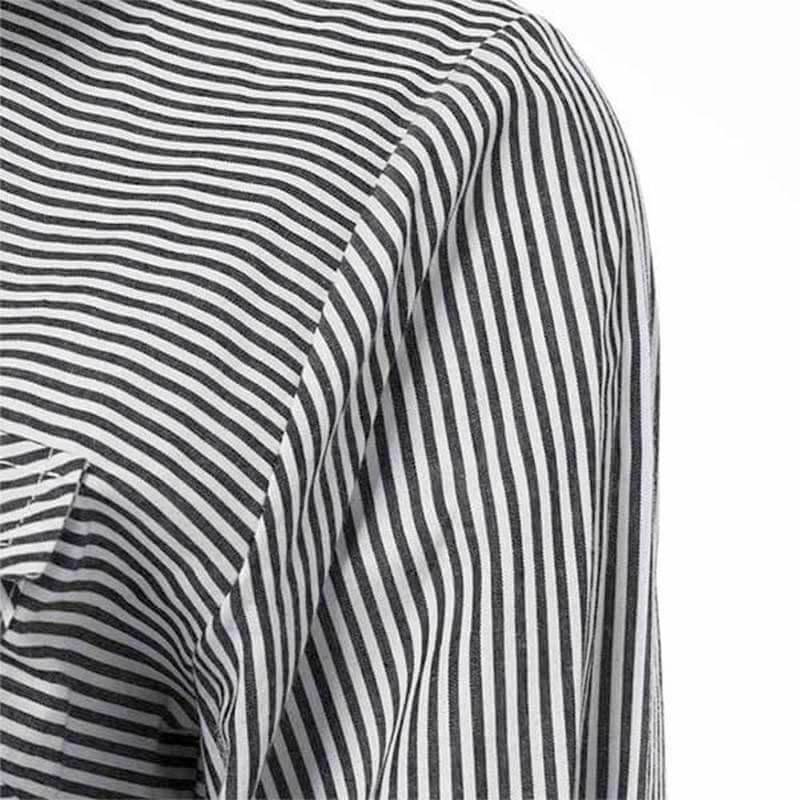 détail épaule robe chemise longue muslim mine