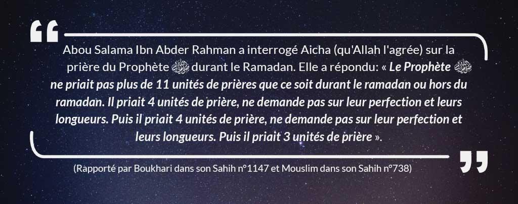 hadith tarawih muslim mine