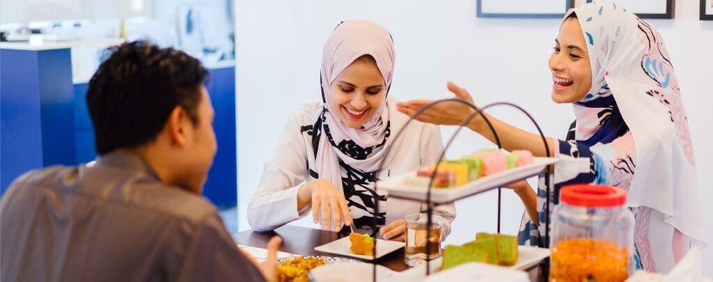 homme femme musulman heureux muslim mine