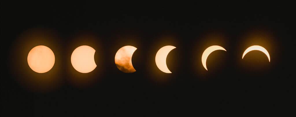 phase éclipse lunaire muslim mine