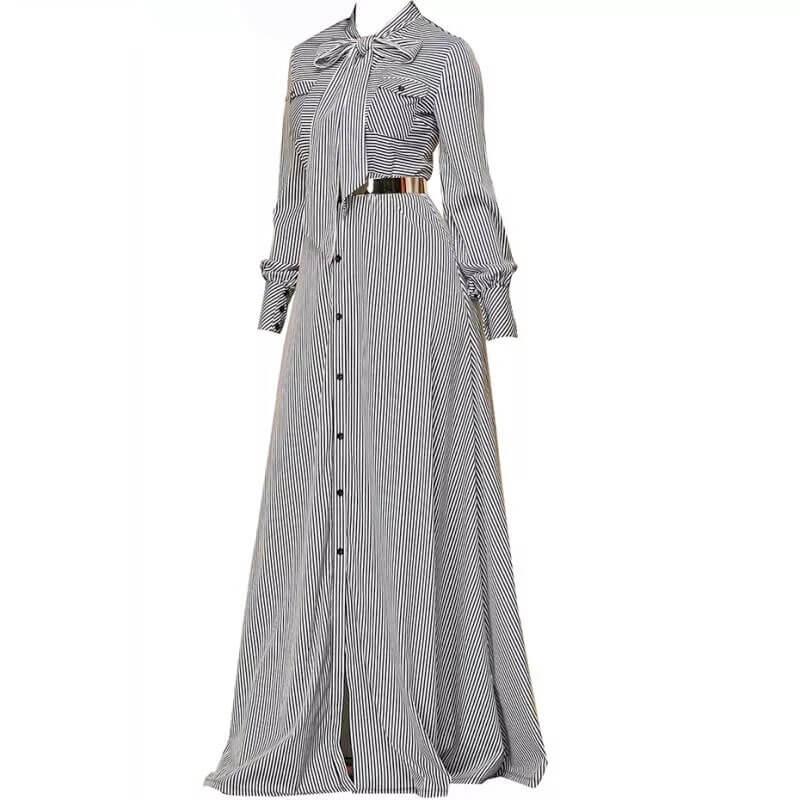 robe chemise longue profil muslim mine