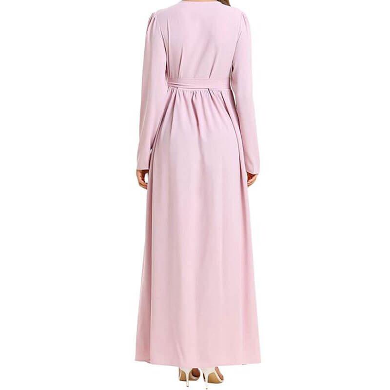 robe maternité chic de dos muslim mine