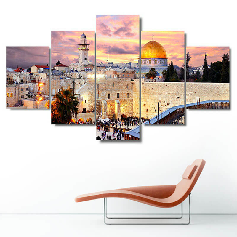 tableau jerusalem muslim mine