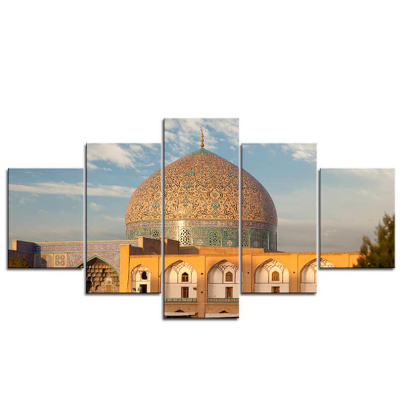 tableau mosquée masjid sadr muslim mine