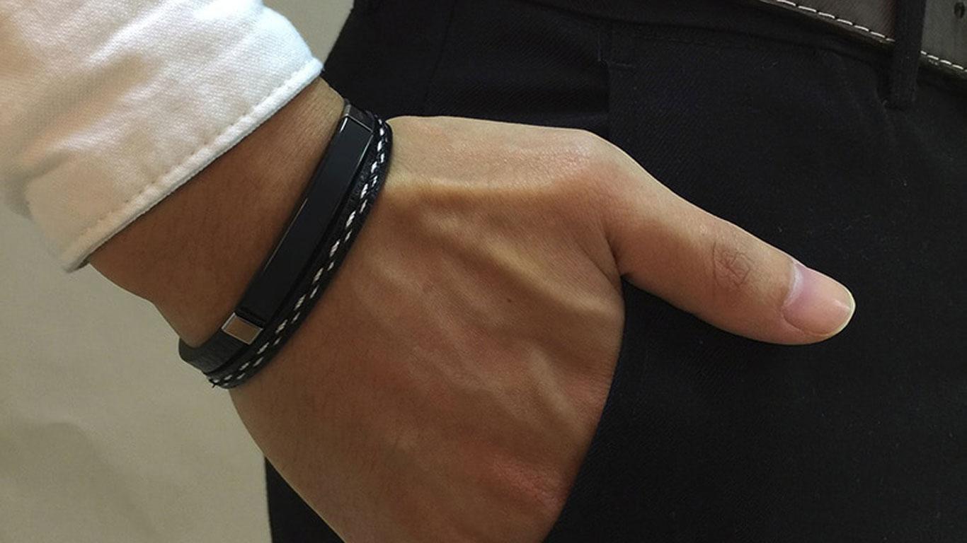 bracelet personnalisé mot d'amour muslim mine
