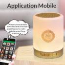 application lampe coranique muslim mine