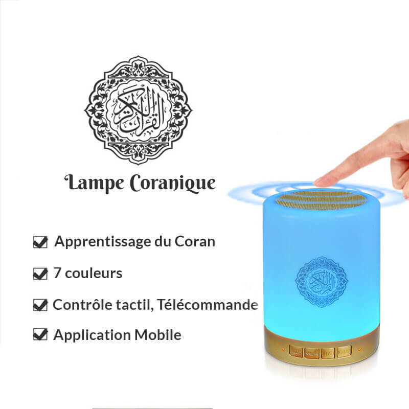caractéristiques lampe coranique muslim mine