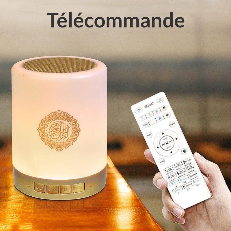 telecommande lampe coranique muslim mine