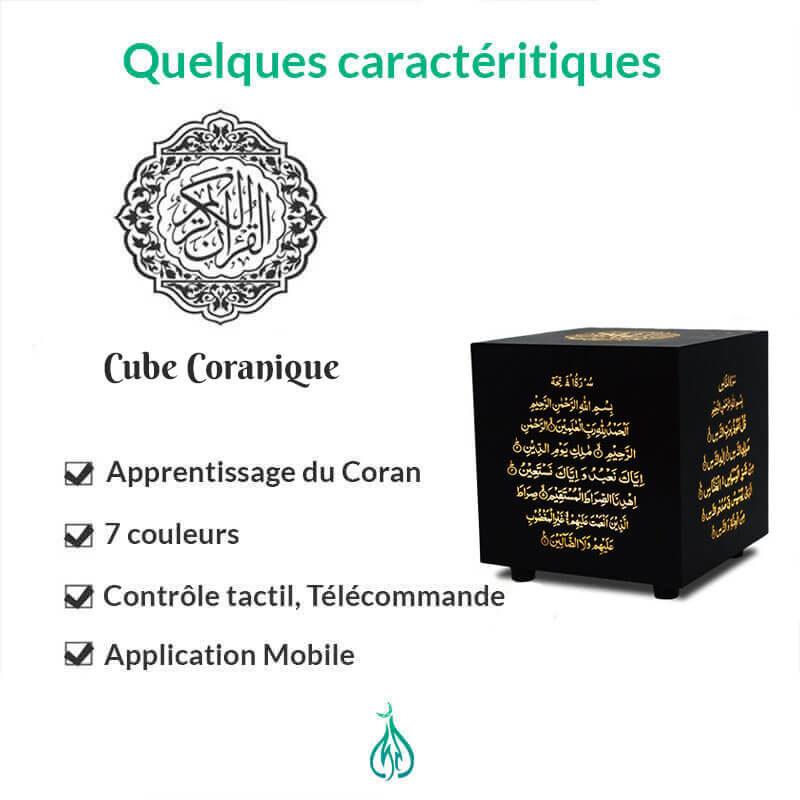caractéristique cube coranique muslim mine
